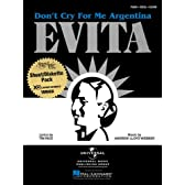 Evita: Don't Cry for Me Argentina: Piano, Vocal, Guitar