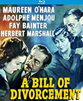 A Bill of Divorcement (aka Never to Love) [Blu-ray]