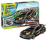 ドイツレベル 1/20 ジュニアキットシリーズ ブラック レーシングカー 色分け済み プラモデル 00807