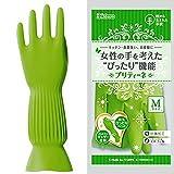 ダンロップホームプロダクツ プリティーネ グリーン M 家庭用手袋 樹から生まれた手袋 キッチン 食器洗い お掃除に