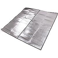 キャンプテントマット/ multifunction200 X 200two-sidedアルミ箔ダブルアウトドアピクニックマットパッドパッド