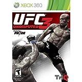 Xbox360 UFC アンディスピューテッド 3 アジア版