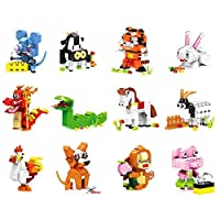 NBD Corp Exclusive Ideabox Chinese Zodiac Consist of 12 Animals for Ages 6 Yrs+. [並行輸入品]