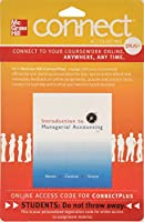 Connect 1-Semester Access Card for Introduction to Managerial Accounting