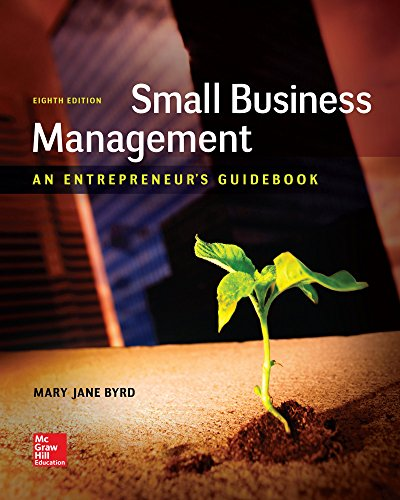 Download Small Business Management: An Entrepreneur's Guidebook 1259538982