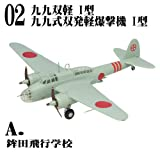 1/144 WORK SHOP Vol.30 双発機コレクション4 [2A.九九式双発軽爆撃機 I型 鉾田飛行学校](単品)