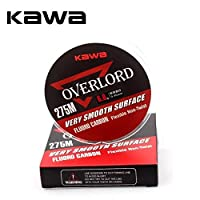 KAWA Fluorocarbon Fishing Line 300Yds/274m 0.165-0.470mm Top Grade Japanese Multifilament