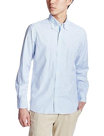 Albiate Stripe Buttondown Shirt 3211-149-1642: Light Blue