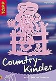 Country-Kinder durchs Jahr aus Tonkarton.