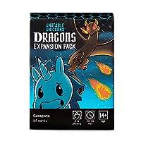 不安定Unicorns Dragons拡張パック、ブラック