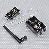 FrSky 2.4G 8CH DFT 送信機 モジュール V8FR-II レシーバー コンボ付 並行輸入品