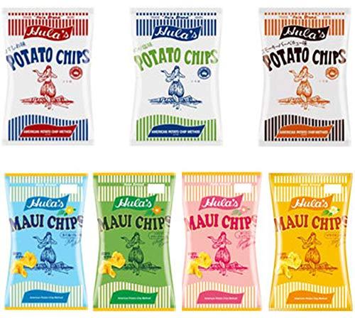 フラ印 アメリカンポテトチップス マウイチップス 7種類アソート