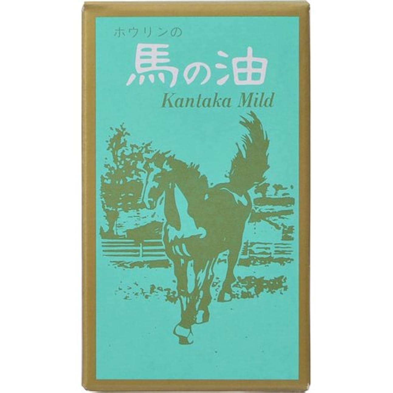 明確にアラバマ話ホウリン 馬の油 カンタカマイルド 65ml