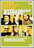 Learn Country Guitar With 6 Great Masters [DVD] [Import]
