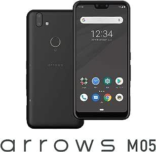 富士通 arrows M05(ブラック)- SIMフリースマートフォン[5.8インチ / メモリ 3GB / ストレージ 32GB] ASMC01001(M05-K)