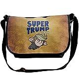 FreedomHip メッセンジャーバッグ ショルダーバッグ 斜めがけ アウトドア ドナルド・トランプ Super Trump カッコいい 人気 大統領