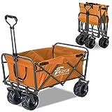 FIELDOOR ワイルドマルチキャリー 耐荷重150kg 折りたたみ式多用途キャリーカート アウトドア キャンプ レジャー