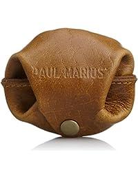 [ポール?マリウス] PAUL MARIUS 本革 スナップボタン小銭入れ 小袋コインケース