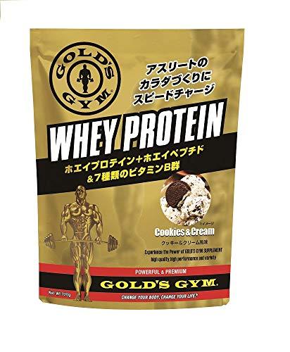 ゴールドジム(GOLD'S GYM) ホエイプロテイン クッキー&クリーム風味 360g