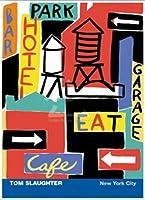 ポスター トム スローター New York City 額装品 アルミ製ベーシックフレーム(ホワイト)