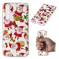 Huawei P20 Lite シェル, カバー Huawei P20 Lite カバー, Phoebe カバー インパック 耐性 耐久性のある 電話 カバー の Huawei P20 Lite (Santa)