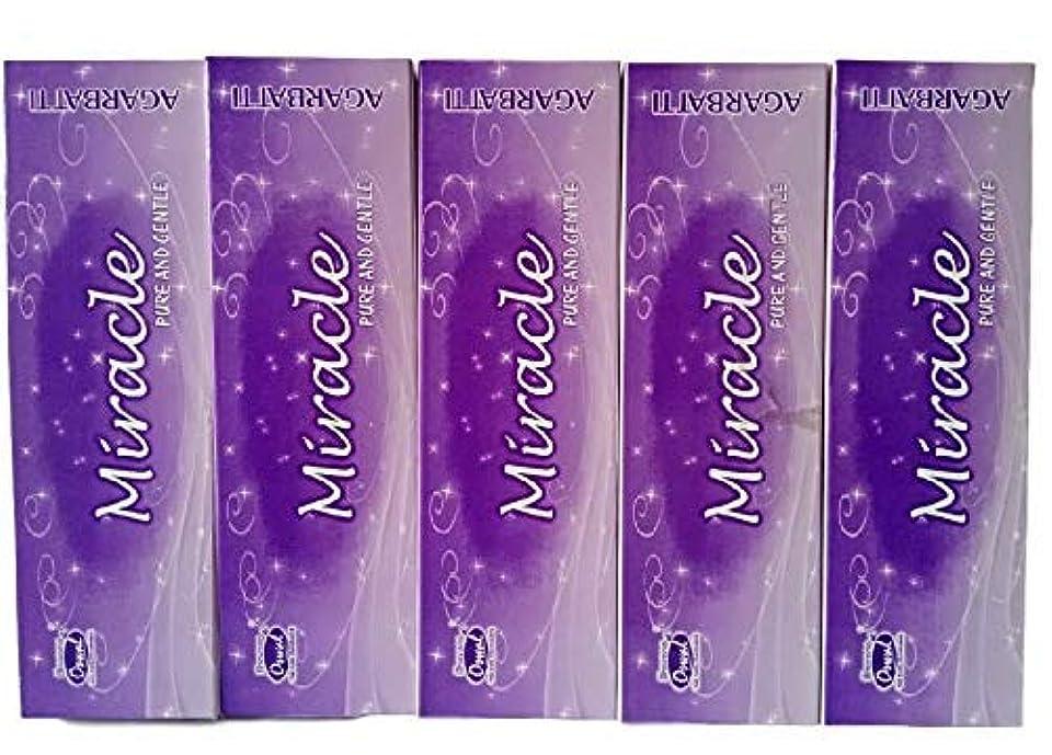 試験ダンス最大のGeneric Oswal Miracle Incense Sticks(Pack of 3)