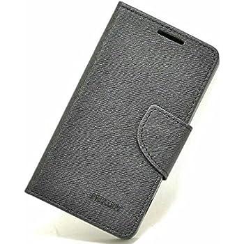 【シンプルにオシャレなケース!】iPhone SE PU レザー 手帳型 ケース マルチ カラー Fancy Diary case カード収納 クリーニングクロス 付 【DISE オリジナルセット】 (iPhone SE, ブラック×ブラック)