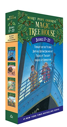 Magic Tree House Volumes 17-20 Boxed Set: The Mystery of the Enchanted Dogの詳細を見る