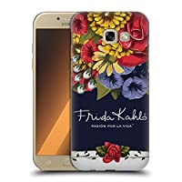 Official Frida Kahlo ブルーム レッド・フローラル ハードバックケース Samsung Galaxy A5 (2017)
