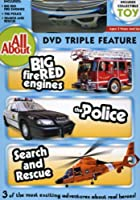 All About: Fire Engines Police Search & Rescue [DVD] [Import]