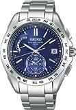 [セイコー]SEIKO 腕時計 BRIGHTZ ブライツ 日中米対応 ソーラー電波 ワールドタイム スーパークリアコーティング ブルー SAGA085 メンズ