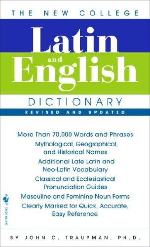 The New College Latin & English Dictionary, Revised and Updatedの詳細を見る