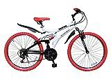 My Pallas(マイパラス) GRAPHIS(グラフィス) MTBマウンテンバイク 26インチ 18段ギア カラー/ホワイトレッド GR-005