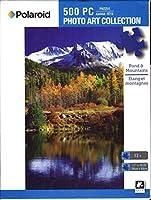 Pond & Mountains 500 Piece Puzzle [並行輸入品]