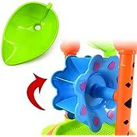 【ノーブランド品】プラスチック製 キッズ ビーチ 海辺 砂時計 亀の形 おもちゃ セット ギフト
