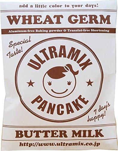 ウルトラミックス小麦胚芽入り北海道産バターミルクパンケーキミックス200g