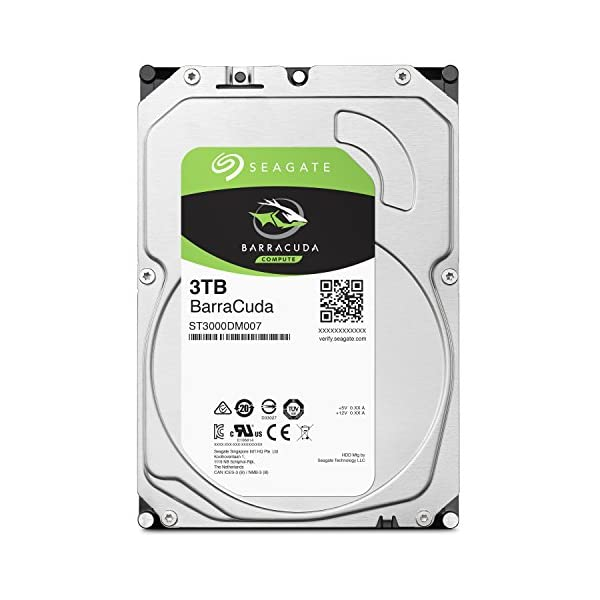 Seagate BarraCuda 3TB【 2...の商品画像