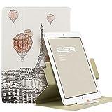 iPad Air2 ケース 360度回転 ESR iPad Air2 カバー レザー PU スタンド機能 軽量ケース 傷つけ防止 オートスリープ iPad Air2(2014年版)スマートカバー(魅惑のパリ)
