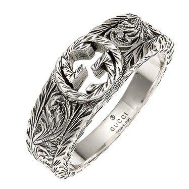 14b683fee1 (グッチ) GUCCI レディース&メンズ シルバー リング 指輪 12号 [並行輸入品] GUCCI(グッチ)のリングです。 グッチ(GUCCI)は1921年に創立したイタリアの  ...