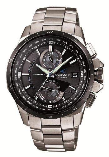 腕時計 OCEANUS オシアナス  タフソーラー 電波時計 MULTIBAND 6 OCW-T1010-1AJF メンズ カシオ