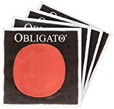 バイオリン弦 オブリガート E(ゴールド),A,D,G線セット E線:ボール