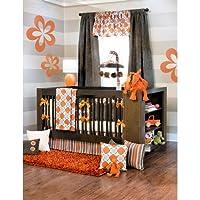 Echo 4 Piece Baby Crib Bedding Set with Bumper by Sweet Potato by Glenna Jean