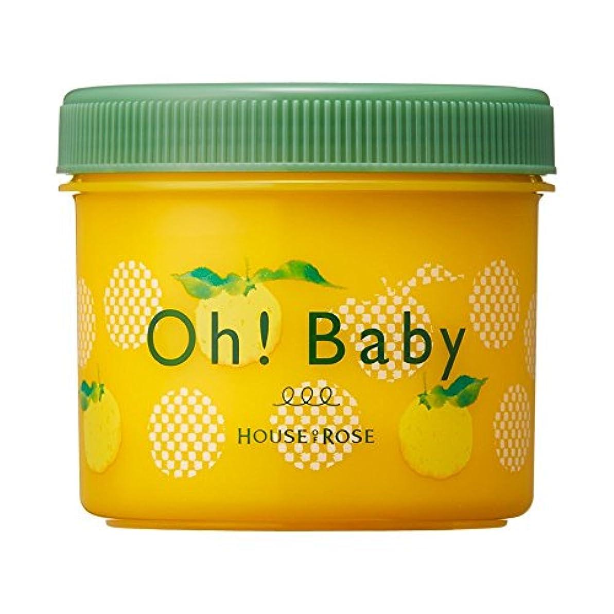 市の花数値引き付けるハウス オブ ローゼ Oh! Baby ボディ スムーザー YZ(ゆずの香り)