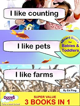 I Like Counting / I Like Pets / I Like Farms (I Like Reading) by [Publishing, Duvet]