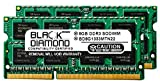 16GB 2X8GB RAM Memory for HP Pavilion Notebooks Notebook g6-2082ee Black Diamond Memory Module DDR3 SO-DIMM 204pin PC3-10600 1333MHz Upgrade