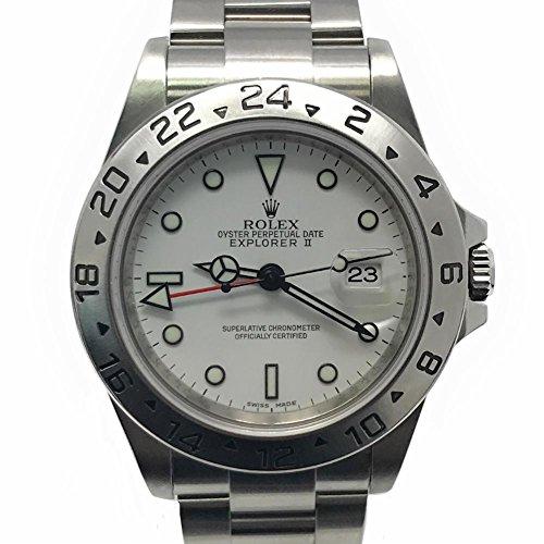 Rolex Explorer II swiss-automaticメンズ時計16570(認定pre-owned )