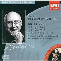 Britten: Cello Symphony, Cello Suite No.2 / Shostakovich: Cello Concerto No.1