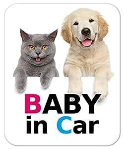 kmag 犬&猫マグネット BABY in Car