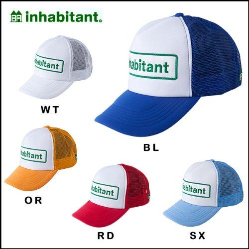 inhabitant/インハビタント キャップ BASIC CAP IH118HW91