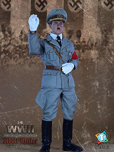 TIT TOYS 1/6スケール アクションフィギュア WWII アドルフ・ヒトラー 中期Ver.(TT003)